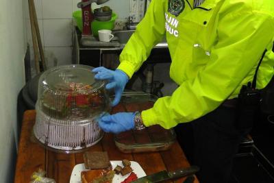 Cayó banda que estaría vendiendo brownies y tortas de marihuana en Bucaramanga