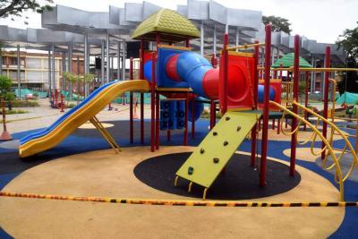 A punto de entregarse obra del Parque Infantil