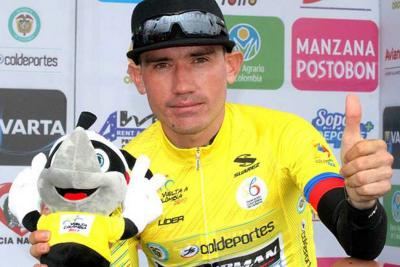 Este santandereano es el virtual campeón de la Vuelta a Colombia