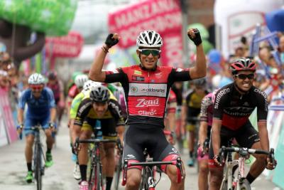 Santandereano Cala está un paso del título de la Vuelta a Colombia