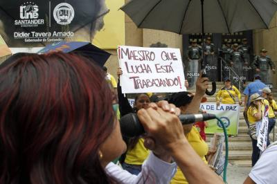 Docentes anuncian protesta para el 24 de agosto en Colombia