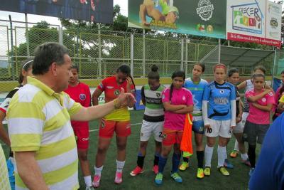El fútbol femenino local en la mira de la Selección