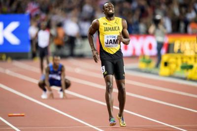 Adiós doloroso para el jamaiquino: Usain Bolt se lesionó en su última carrera