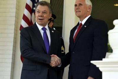 Vicepresidente de Estados Unidos se reunirá con Santos en Colombia