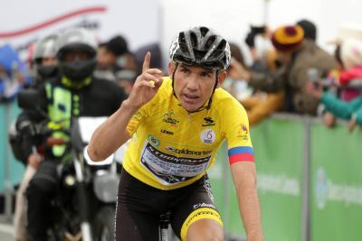 Santandereano Cala, virtual campeón de la Vuelta a Colombia