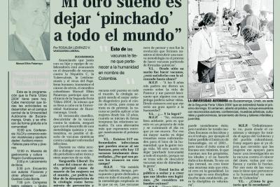 2004: el segundo año de la Feria se ganó titulares en todo el país