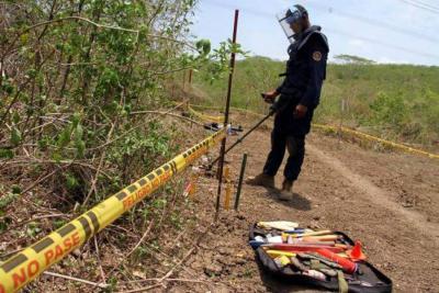 Sabana de Torres fue declarado municipio libre de minas antipersonas