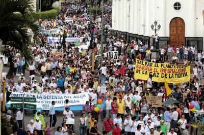 Invitan a marchar por el agua del páramo de Santurbán el 6 de octubre