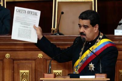 Constituyente de Nicolás Maduró disolvió el Parlamento de Venezuela