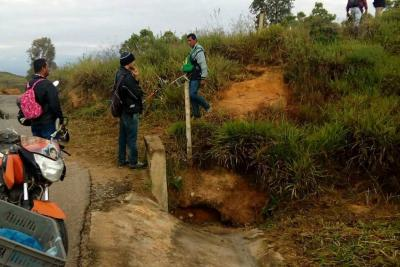Motociclista falleció en zona rural de Los Santos