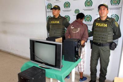 Capturados dos presuntos ladrones en el Norte de Bucaramanga