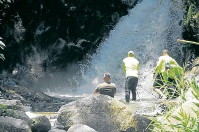 Cascada La Judía de Floridablanca no debe usarse como un balnerario