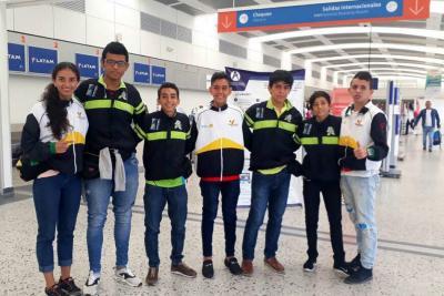 Medallas del Taekwondo santandereano en Bogotá
