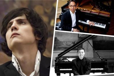 Tres conciertos, tres pianistas, tres monumentos musicales en Bucaramanga