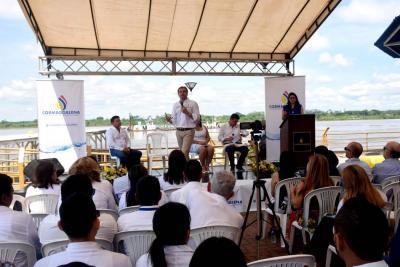 Inició contrato de dragado Barrancabermeja - Pinillos