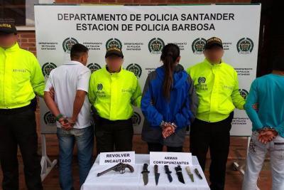 Capturan a cuatro personas por asesinar de 40 puñaladas a un hombre en Santander
