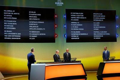 Conozca los rivales de los colombianos en la Liga de Europa