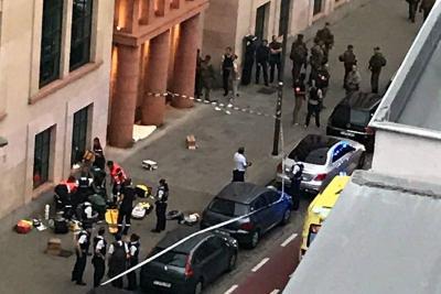 Frustran ataque con cuchillo de un hombre a dos militares en Bélgica