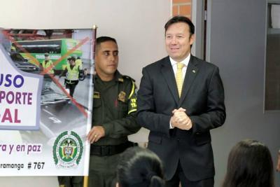 Pondrán freno a 'piratería' en Calle de los Estudiantes de Bucaramanga