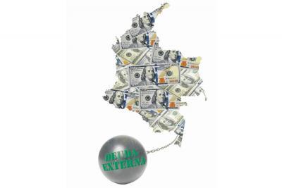 ¿Qué le representa a los colombianos la deuda externa pública del país?