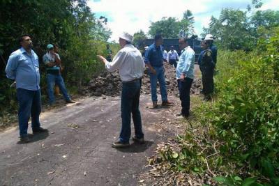 Detienen al representante legal del predio Las Margaritas en San Vicente de Chucurí
