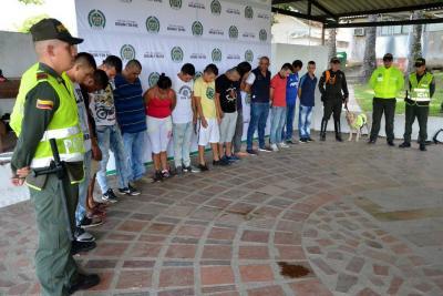 Capturan a 'Los Chingas', dedicados al microtráfico