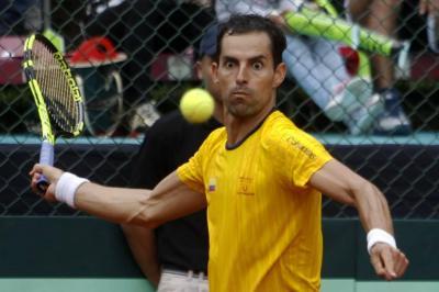 Santiago Giraldo ya está en segunda ronda del US Open