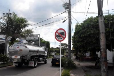Mañana inicia restricción a vehículos de carga pesada en Barrancabermeja