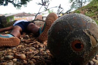 Muere niño en Santander en medio de una fuerte tormenta