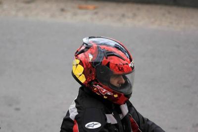 Preparan nueva reglamentación para los cascos de los motociclistas