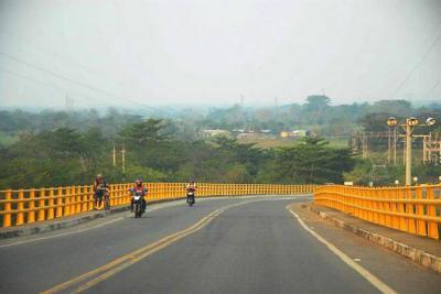 Nuevo paso para iluminar  puente Guillermo Gaviria