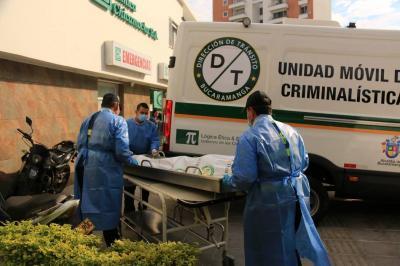 Peatón murió en Bucaramanga tras ser arrollado por una moto en el carril exclusivo