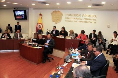 Reforma política pasa a la plenaria de la Cámara de Representantes