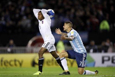 Argentina igualó y sigue en la zona de repechaje