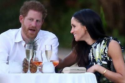 Meghan Markle habló por primera vez  sobre su relación con el príncipe Harry
