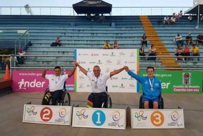 Santander brilló en el Open de Natación Paralímpica