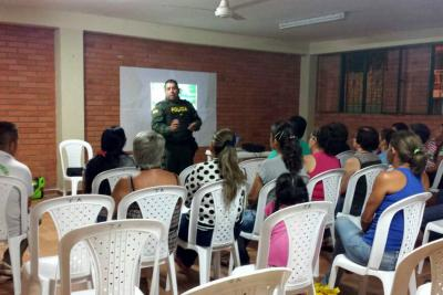Asovilagos aceptó los espacios pedagógicos ofrecidos por la Policía