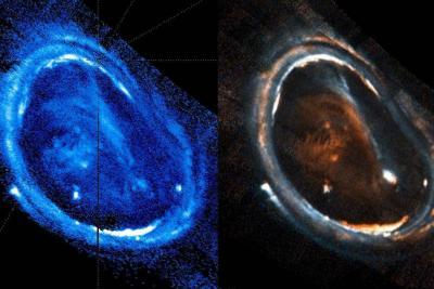 Detectan diferencias en la formación de auroras en Júpiter y en la Tierra