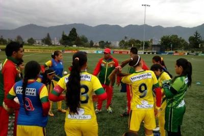 Culminó la participación de Santander en el nacional Prejuvenil femenino de fútbol