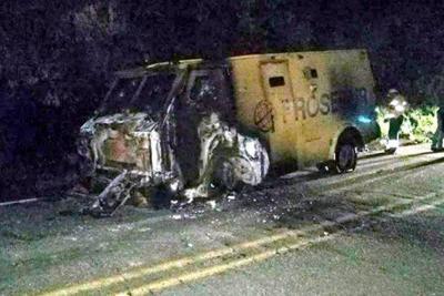 Atacan vehículo de valores en la vía Ocaña-Aguachica