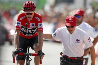 Chris Froome es virtual campeón de la Vuelta a España