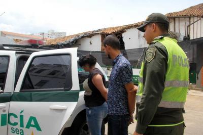 Capturada pareja de venezolanos tras robo en Bucaramanga