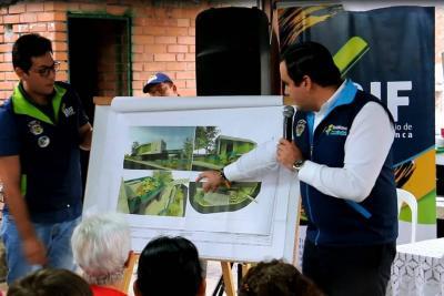 Construirán Salón Comunal para el barrio La Castellana