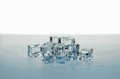 El alma, en  'cubitos' de hielo