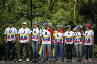 Oposición venezolana desmiente supuestas conversaciones con el Gobierno