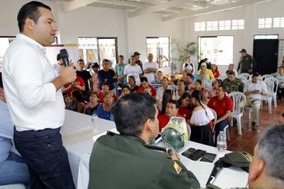 Productividad, recreación y seguridad llegan a la Comuna 10 de Bucaramanga