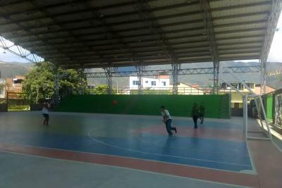 Coliseo Villamil da apertura a las primeras olimpiadas de Asojuntas