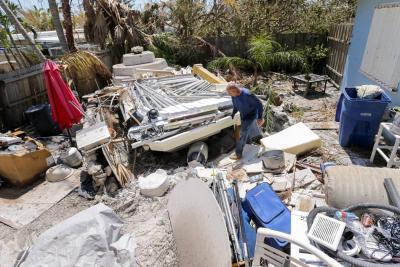 Doce muertos en Florida y millones de viviendas sin luz tras el paso de Irma