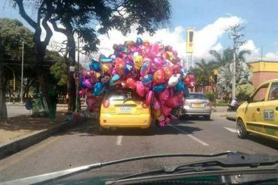 "Taxista de ""la película UP"" se toma redes sociales de Bucaramanga"