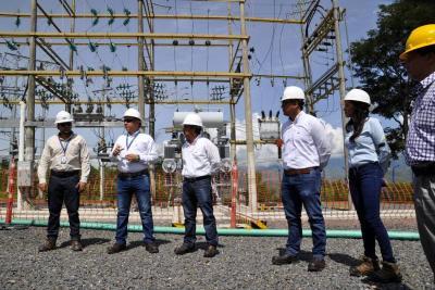 Modernizan subestación de energía eléctrica del Socorro